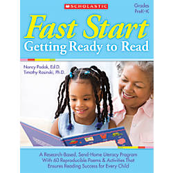 Scholastic Fast Start Getting Ready To