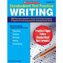 Scholastic Standardized Test Practice Writing Grades