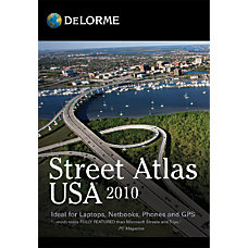 DeLorme Street Atlas USA 2010 Traditional