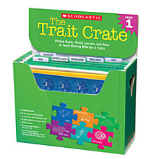 Scholastic The Trait Crate Grade 1