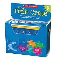 Scholastic The Trait Crate Grade 2