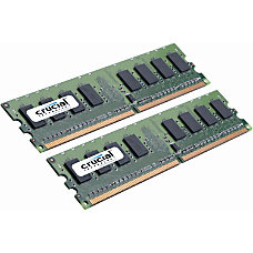 Crucial 4GB Kit 2GBx2 240 Pin