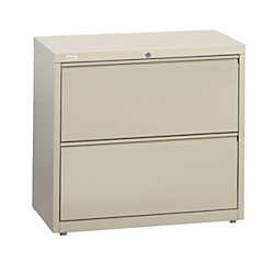 Officemax Two Drawer Lateral Files 36 W By Office Depot