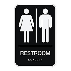 Bathroom Signs Office Depot signs at office depot officemax