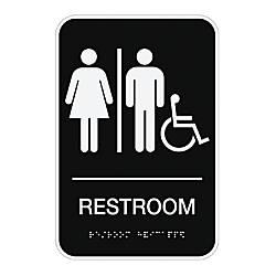 Cosco ADA Room Accessible Restroom Sign