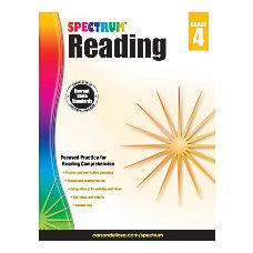Carson Dellosa Spectrum Reading Grade 4