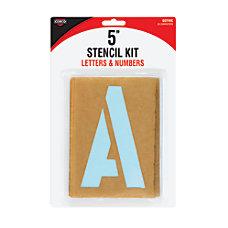 Cosco Cardboard Stencil Kit 5