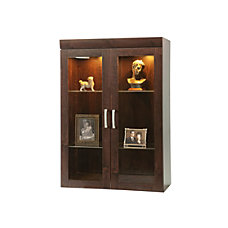 Sauder Office Port Collection Display Hutch