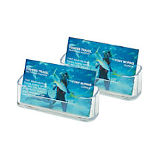 Deflect o Desktop Business Card Holders