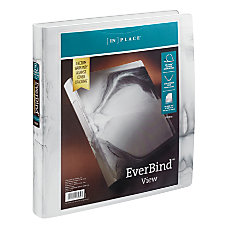 INPLACE EverBind View Binder 1 White