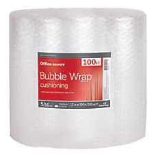 Office Depot Large Bubble Packing Material
