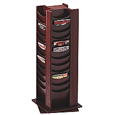 Bretford Rotating Wood Literature Display Rack
