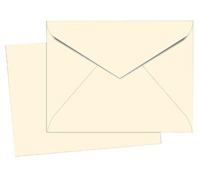 Office Max Invitation Envelopes 4 38 x 5 34 24 lb Ivory 100 box by