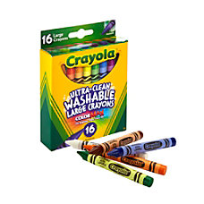 Crayola Washable Crayons Assorted Colors Pack