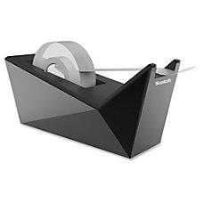 Scotch Desktop Tape Dispenser Refillable Metallic