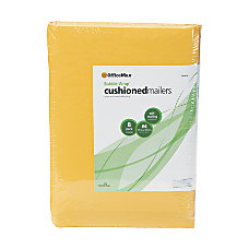 OfficeMax Bubble Wrap Cushioned Mailers Size