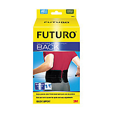 Futuro Adjustable Back Support Fits Waist