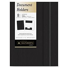 Southworth Pinstripe Document Holder Letter 8
