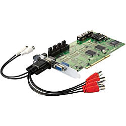 LevelOne FCS-8005 4-Port Analog Camera Capture Card