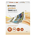 OfficeMax Premium Laser Paper 96 Bright
