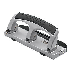 OfficeMax Deluxe 3 Hole Desktop Punch