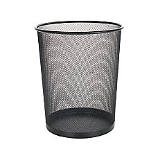 OfficeMax Mesh Waste Container Round