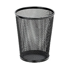 OfficeMax Mesh Jumbo Pencil Cup Black