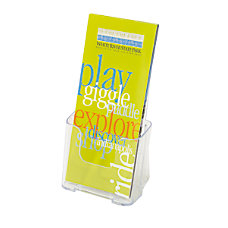 OfficeMax LiteratureLeaflet Holder 4pk