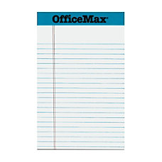 OfficeMax Perforated Pads 5 x 8
