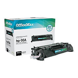 OfficeMax Black Toner Cartridge Compatible with