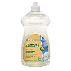 Earth Friendly Products Dishmate Dishwashing Liquid