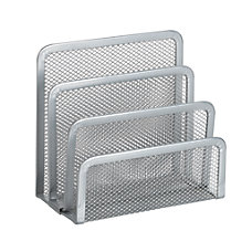 OfficeMax Mesh Mini Sorter Silver