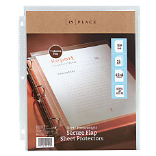 INPLACE Secure Flap Super Heavyweight Poly