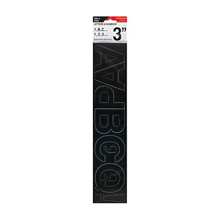 cosco vinyl peel stick letters and numbers stickers 3