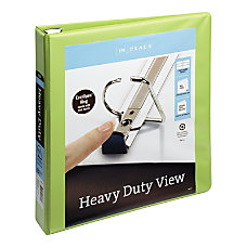 Heavy Duty Easy Open D Ring