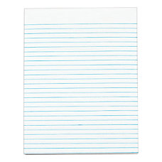 OfficeMax Gummed Pad 8 12 x