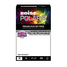 Boise Polaris Color Copy Paper Ledger