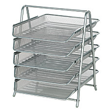 OfficeMax Steel Mesh 5 Tier File