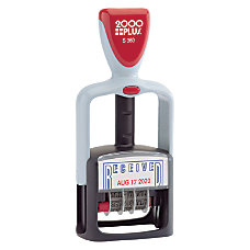 Cosco 2000PLUS Self Inking 2 Color