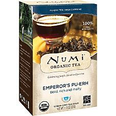 Numi Emperors Pu Erh Organic Tea
