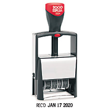 AccuStamp Cosco 2000PLUS Self Inking Phrase
