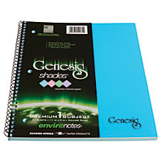 Genesis Roaring Spring Shades Notebook 11