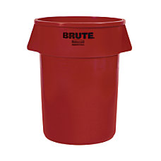 Rubbermaid Brute Round Plastic Trash Can