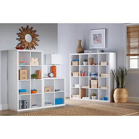 Bon Studio Cube Bookcase 8 White Item 138711
