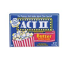 ACT II Microwave Popcorn Butter Flavor