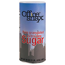 Office Snax Extra Fine Pure Granulated