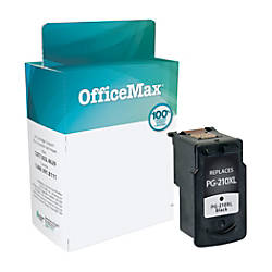OfficeMax OM05848 Canon PG 210 2974B001