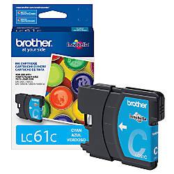 Brother LC61C Cyan Ink Cartridge