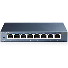 TP Link 8 Port Gigabit Ethernet