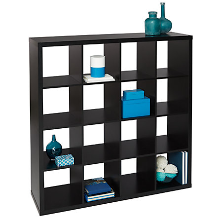 Bon Studio Cube Bookcase 16 Black